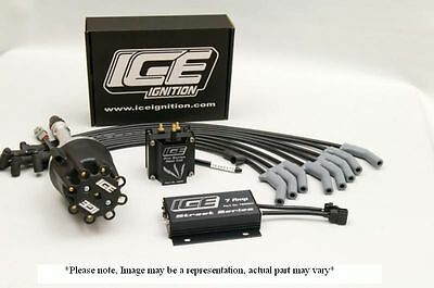 Ice Ignition 7 Amp Street/race Ignition Kit Ford 302/351C & 385 Bb V8 Ik0303