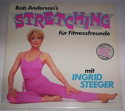 BOB ANDERSON'S STRETCHING - mit INGRID STEEGER - LP - Vinyl - 1983 GER + Poster