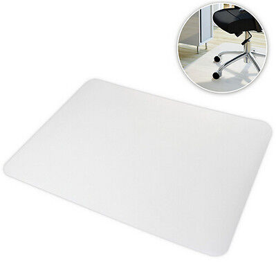Hard Floor Chair Mat PP Protection Plastic Chair Pad Office Work 120 x 90cm