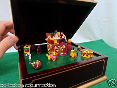 Mr. Christmas Jingle Bells Music Box w/ Rotating Figures & Pop Up Jack InTheBox