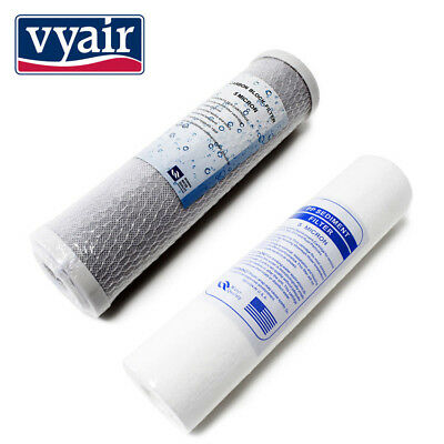 Spare Filters Vyair RO-50MP - 2 Pre Filters for Reverse Osmosis Water Filters