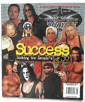 Wcw / Wwe  Magazine / Issue 53 / Aug 1999 / Hogan / Flair / Nash / Hall / Sting