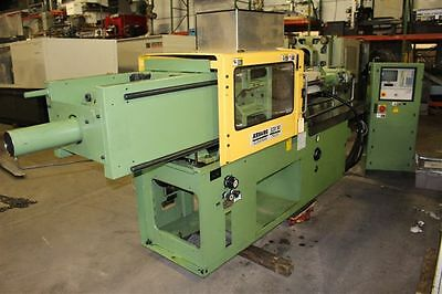 Used 1997 Arburg 84 Ton Plastic Injection Molder Model 320M 750-210