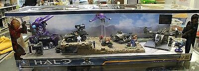 MEGA BLOKS HALO 10 YEARS The Authentic Collectors Series Working Display #1