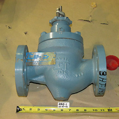 "New Itt Hammel Dahl 2"" 300 Top Guide Globe Valve   Cat. No. 502Jhc32Cabg"