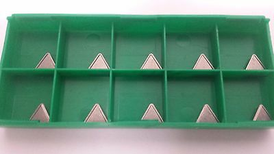 New World Products TCMT 21.52 AA Mp4 C5 Carbide Inserts Uncoated 10pc TCMT2152