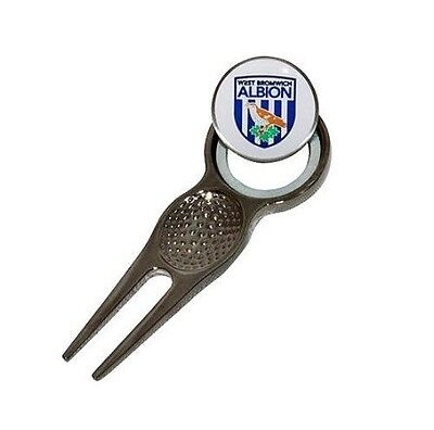 NEW West Bromwich Albion FC Golf Divot Tool And Ball Marker