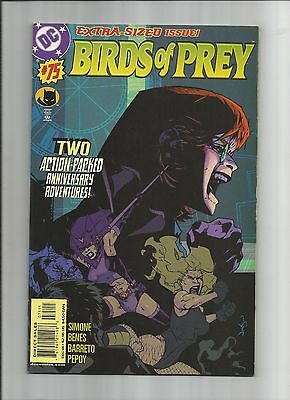 Birds Of Prey #75 High Grade (9.0) Dc Extra-Sized