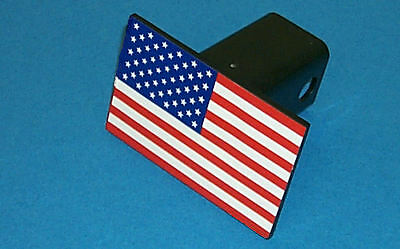 "United States Flag Trailer Hitch Cover 30001; Fits 2"" Square Receivers"