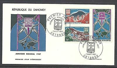 Dahomey 1967 World Scout Jamboree FDC