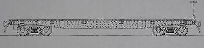 Funaro F&C 5100 HOn3  EAST BROAD TOP  Old Time EBT Flat Cars Builds TWO (2) CARS
