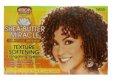 African Pride Shea Butter Miracle Moisture Intense Texture Softening Texturizer