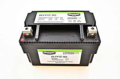 BikeMaster Lithium Ion Battery 180 CCA (2.4 lbs)  DLFP-12-BS