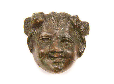 Roman bronze applique