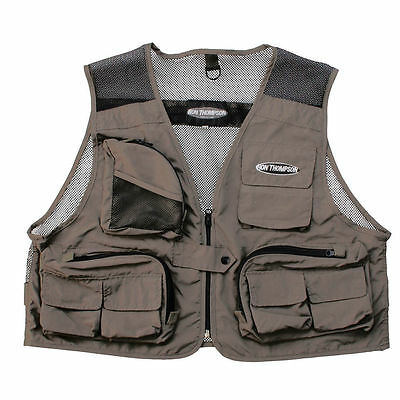 Ron Thompson Mesh Lite Waistcoat Fly Fishing Vest  S M L Xl Or Xxl Choose Size