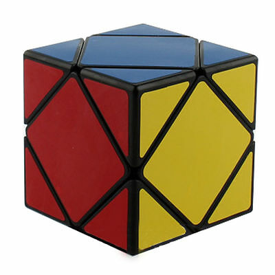 New Skewb Magic Cube Puzzle Toys Game Gift for Adults Children Black intelligent