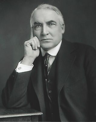 Warren G. Harding 8 x 10 Print Photo 29th President of the United States