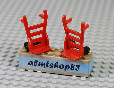 Lego Hand Truck Diable Porte Charge 2495 Choose Quantity /& Color