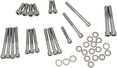 Drag Specialties Socket-Head Bolt Set, Smooth MK265S DS-190878S