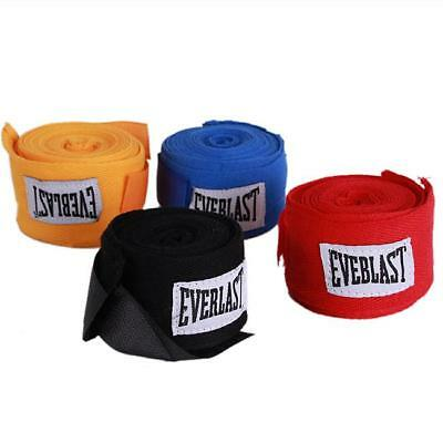 1Pair Unisex Boxing Hand Wraps Boxing Bandages Wrist Protecting Fist Punching 6L