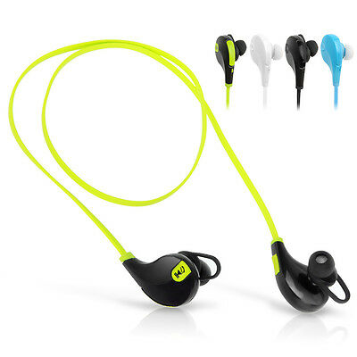Wireless Bluetooth Headset Sport Stereo Earphone Headphone for LG iPhone Samsung