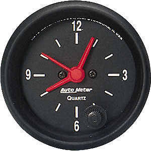 "Autometer Z-Series 2-1/16"" Electric Clock Quartz Movement Au2632"