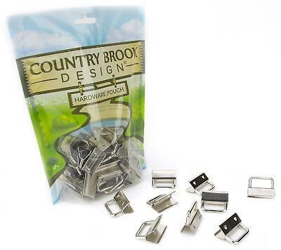 50 - Country Brook Design® 1 Inch Key Chain Fob Wristlet Hardware