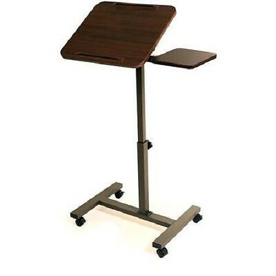 Laptop Stand Table Portable Desk Adjustable Bed Pc Rolling Notebook Computer