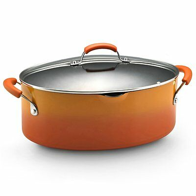Rachael Ray 11487 11487 8-qt Two-Tone Covered Pasta Pot