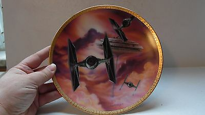 1995 Star Wars Tie Fighters Space Vehicles Hamilton Collector Plate