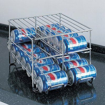 Organize it All 1842W-1 Chrome Can Holder