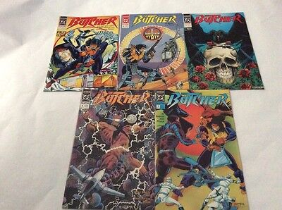 DC Comics The Butcher Set of 5 (1,2,3,4,5)