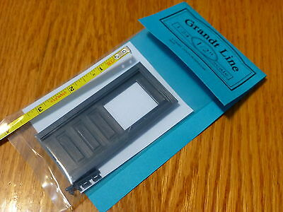 Grandt Line #3945 Operating Three-Panel Door -- Without Transom (1:24th Scale)