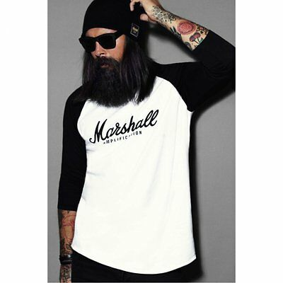 Marshall 'Script Logo Graphic' Baseball T-Shirt (XS-XL)