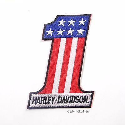 Harley Davidson Patch NUMBER ONE USA