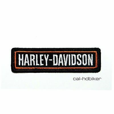 Harley Davidson Patch NAMEPLATE