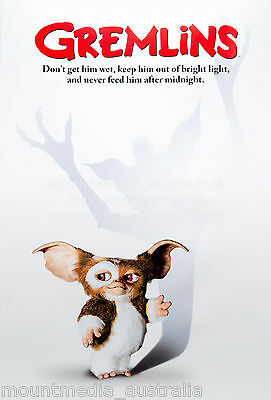 "Gremlins POSTER ""61x91cm Horror Movie Score, Funny, Cute"" NEW Licensed"