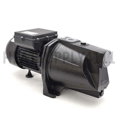 1/2 HP Shallow Well Jet Pump w/ Pressure Switch, 115/230V Dual Voltage, UL