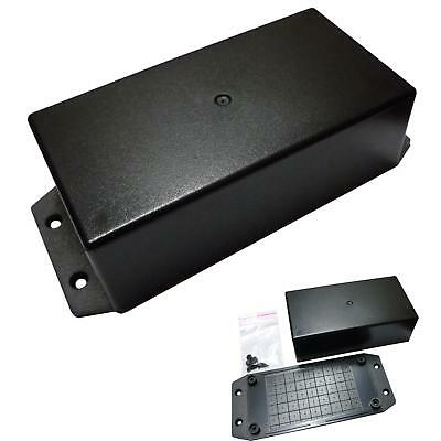 157x70x45mm Black ABS Plastic Enclosure Small Project Box For Electronic Circuit