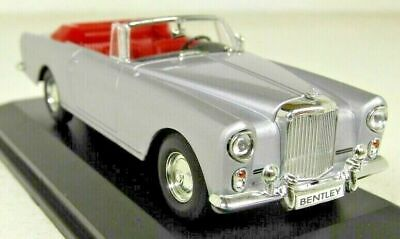Road Sig 1/43 Scale 43214 Bentley S2 Continental DHC PW Silver Diecast Model Car