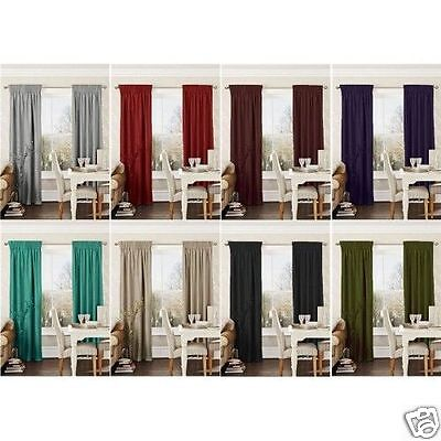 Pencil Pleat Tape Top  Ready Made Curtains + Tie Backs Faux Silk Fully Lined