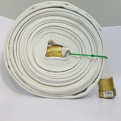 Snap-Tite Hose 1.5 NH 50' Water Supply Hose W/ Brass Couplers #1111185539