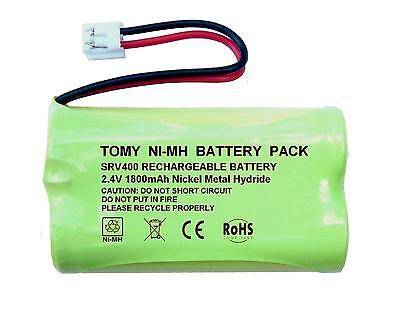 Tomy SRV400 Digital Video Baby Monitor 2.4V 1800mAh NiMH Rechargeable Battery UK