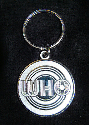 THE WHO - CIRCLES LOGO - KEYCHAIN (keyring) OFFICIAL MERCHANDISE - NEW
