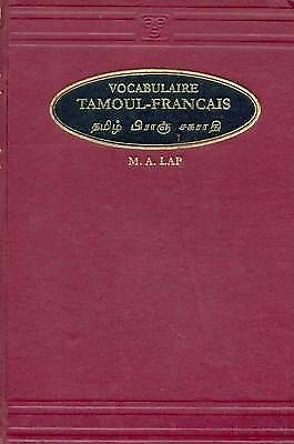 NEW Vocabulaire Tamoul  - Francais (Tamil - French Vocabulary) by M. A. Lap