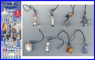 TOMY Gashapon SET 8 Figures RATATOUILLE Original Official ALL CHARACTERS Look !!