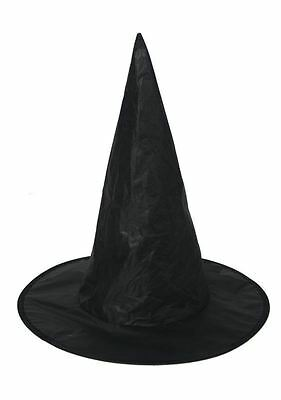 Witches Witch Hat Halloween Children Fancy Dress Costume Accessory