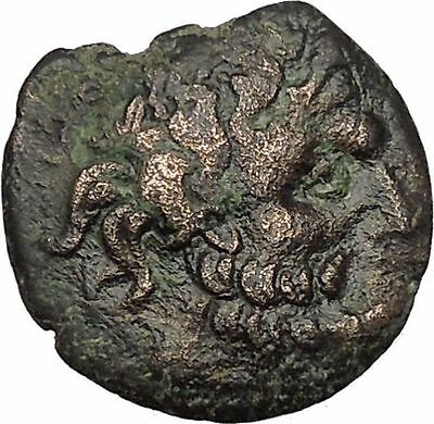 Odessos in Thrace 200BC Ancient Greek Coin Great God  Heros riding Horse i51683