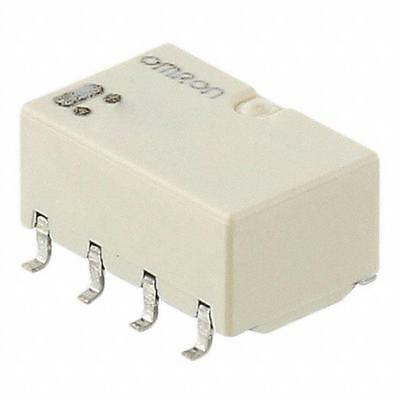 10 pack Omron telecom, non-latching, signal relay, 5V, 1A, DPDT, G6K-2F