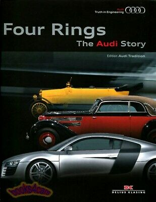 Audi Book Four Rings Story History